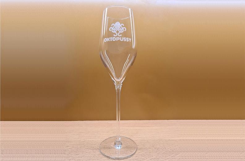 Oktopussy Champagnerglas